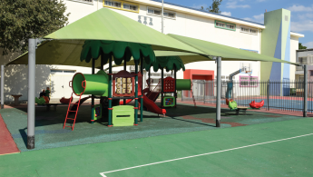The Hagalil elementary school playground