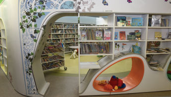 Beit Ariela Shaar Zion Library