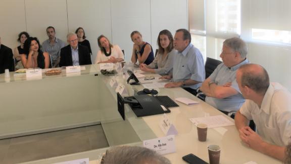 The Bernard van Leer Foundation Board discusses Urban95 progress in Tel Aviv